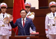 [Infographic] Hanoi Party Chief voted Parliament Chairman