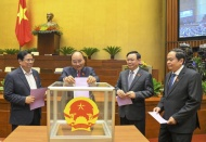Vietnam parliament approves new government members