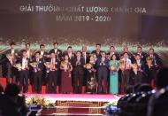 Vietnamese enterprises win Vietnam National Quality Awards 2019-2020