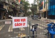 Hanoi tightens quarantine rules after first Covid-19 cases