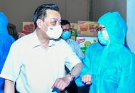[Photo essay] Hanoi sets up task force to assist Bac Giang in coronavirus fight