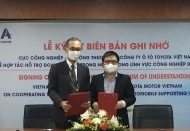 Toyota supports Vietnam manufacturing auto parts