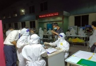 Thousands of medical staff and students sign up to help Bac Giang
