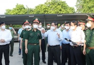 MAY 29: Vietnam rushes to vaccinate workers in Bac Giang epicenter
