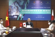 Vietnam, Japan promote cooperation in supporting industries