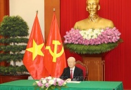Vietnam's Party chief attends CPC and World Political Parties Summit
