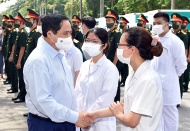 JULY 10: Vietnam starts mass Covid-19 vaccination rollout