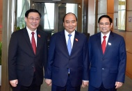 Countries congratulate re-elected leaders of Vietnam