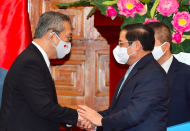 Japan commits comprehensive support for Vietnam amid pandemic