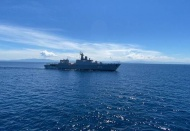 Navies of Vietnam and India conduct joint exercises