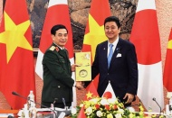 Vietnam - Japan cooperation focuses on military medicine and cybersecurity
