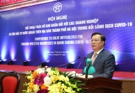 Hanoi initiates dialogue to support foreign businesses amid Covid-19 pandemic