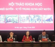 Scientific conference confirms the documentation related to King Ngo Quyen