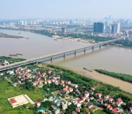 Planning of Red River banks enriches Hanoi's green spaces