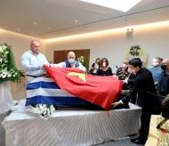 Vietnam, Greece bid farewell to Kosta Sarantidis Nguyen Van Lap