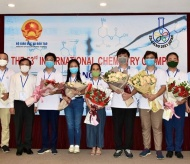 Vietnamese students pocket three gold medals at Int'l Chemistry Olympiad