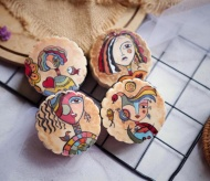 Baker turns traditional mooncakes into artworks