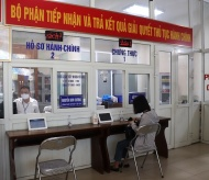 Hanoi ensures smooth handling of administrative processes amid social distancing