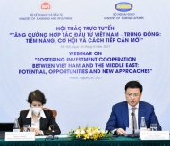 Vietnam to foster investment cooperation with Middle East