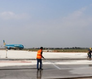 Noi Bai Int'l Airport's upgraded runway ready for operation