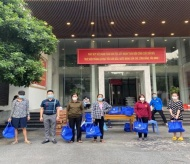 Relief packages reach more than 2.5 million Hanoi residents