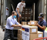 Nearly 1M Germany-donated vaccine doses arrive in Vietnam