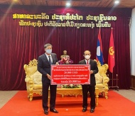 Hanoi supports Luang Prabang in the fight against Covid-19