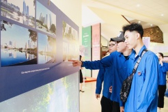 Exhibition of Ba Dinh district - the 'historical land' showcases capital milestones