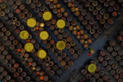 Aerial view of traditional soya sauce wins International Photo Award
