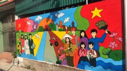 Painting brings new appearance to Hanoi's rural landscapes