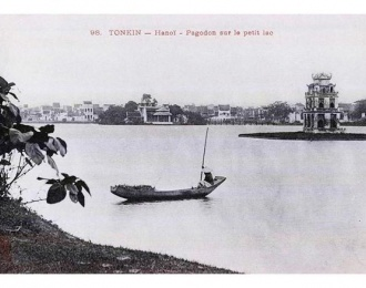 How Hoan Kiem Lake looks different after more than 100 years?
