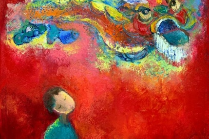 The vibe of Autumn in G39 group's paintings
